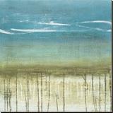 Shoreline Memories II Stretched Canvas Print by Heather Mcalpine