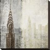 Edifice I Stretched Canvas Print by Tandi Venter