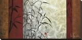 View from Huang Shan Reproducción en lienzo de la lámina por Don Li-Leger