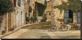La Livraison Stretched Canvas Print by Gilles Archambault