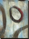 Grayson's Loops I Leinwand von Wani Pasion