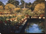Boboli Gardens, Florence Stretched Canvas Print by Philip Craig