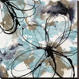Free Flow II Stretched Canvas Print by Natasha Barnes
