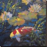Jardin aquatique II Reproduction sur toile tendue par Leif Ostlund