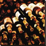 The Wine Collection II Stretched Canvas Print by Tandi Venter