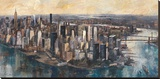 South Manhattan Stretched Canvas Print by Marti Bofarull