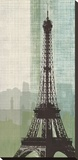 Eiffel Tower II Stretched Canvas Print by Tandi Venter