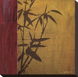 Modern Bamboo I Stretched Canvas Print by Don Li-Leger