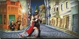 Tango Stretched Canvas Print by Adam Perez