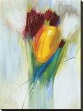 Ovazione Stretched Canvas Print by Karen Lorena Parker