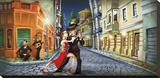 Tango Stretched Canvas Print by Adam Perez