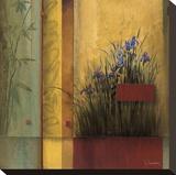 Terrazzo Garden Impressão em tela esticada por Don Li-Leger