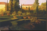 Verona Garden Stretched Canvas Print by Philip Craig