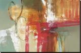 Att bygga ett mysterium Sträckt Canvastryck av Natasha Barnes