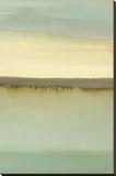 Intensives Olivgrün Leinwand von Caroline Gold