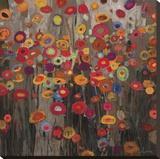 Desfile Reproducción en lienzo de la lámina por Don Li-Leger
