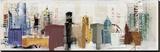Urban Design Reproduction sur toile tendue par Noah Li-Leger