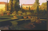 Verona Garden Stretched Canvas Print by Philip Craig