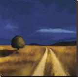 El camino a casa Reproducción en lienzo de la lámina por Tandi Venter