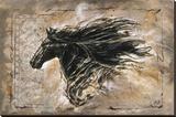 Prince noir Reproduction transférée sur toile par Marta Wiley