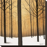 Winter Warmth Stretched Canvas Print by Patrick St. Germain