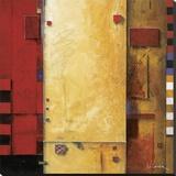 La alegría de vivir Reproducción en lienzo de la lámina por Don Li-Leger