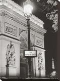 Platz Charles de Gaulle Leinwand von Clay Davidson