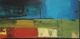 Segments Leinwand von Peter Colbert