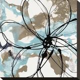 Free Flow I Stretched Canvas Print by Natasha Barnes