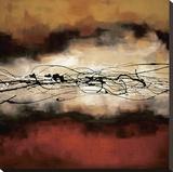 Armonía en rojo y ocre Reproducción en lienzo de la lámina por Laurie Maitland