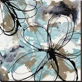 Free Flow II Leinwand von Natasha Barnes