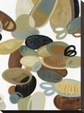 Organic Study I Stretched Canvas Print by Cat Tesla
