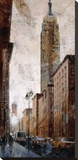 Skyscraper I - Empire State Building Stretched Canvas Print by Marti Bofarull