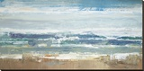 Pastel Waves Reproduction sur toile tendue par Peter Colbert
