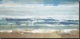 Pastel Waves Leinwand von Peter Colbert