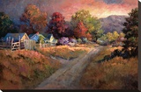Rural Vista I Stretched Canvas Print by Nancy Lund