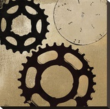 Sprockets I Stretched Canvas Print by Noah Li-Leger