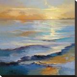 Ocean Overture Impressão em tela esticada por Vicki Mcmurry