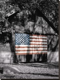 Made in the USA Stretched Canvas Print by Richard Roffman