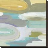 Silk Gem I Stretched Canvas Print by Cat Tesla