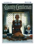 """An Early Thanksgiving,"" Country Gentleman Cover, November 1, 1926 Giclee Print by Newell Convers Wyeth"