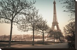 Remembering Paris Stretched Canvas Print by Assaf Frank