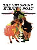 """Cotillion,"" Saturday Evening Post Cover, May 23, 1936 Giclee Print by Albert W. Hampson"