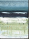 Mar y cielo Ii Reproducción en lienzo de la lámina por Heather Mcalpine