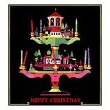 """Christmas Candelabra,""December 1, 1932 Giclee Print by Edward O. Kraske"