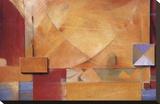 Poet's Passage Stretched Canvas Print by Don Li-Leger