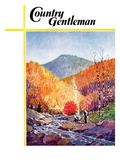 """Mountain Stream in Autumn,"" Country Gentleman Cover, October 1, 1938 Giclee Print by Albert B. Marks"