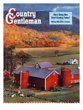 """Red Barns and Silos,""October 1, 1949 Giclee Print by W.C. Griffith"
