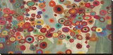 Celebración Reproducción en lienzo de la lámina por Don Li-Leger