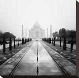 Taj Mahal - A Tribute to Beauty Reproduction sur toile tendue par Nina Papiorek
